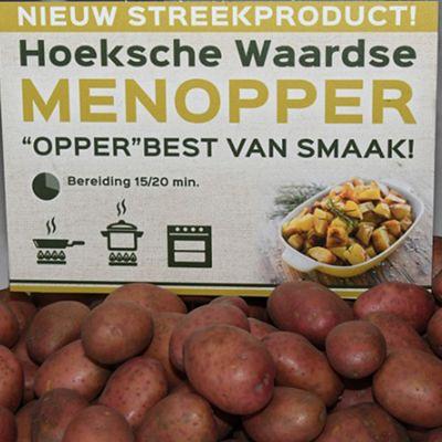 Biologische menopper aardappelen